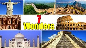 seven wonders ancient world the medieval world natural  seven wonders ancient world the medieval world natural wonders wonders of today
