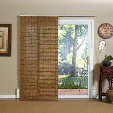 sliding door covering ideas patio