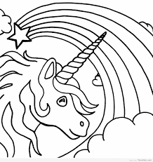 Free Printable Unicorn Coloring Pages Timykids