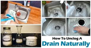 how to unclog a bathroom sink naturally how to unclog a tub drain naturally