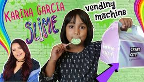 karina garcia s slime kit vending machine craft city by karina garcia unboxing review