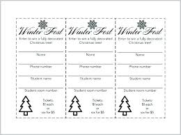 Draw Tickets Template Sample Ticket Template Draw Ticket Template Free Unique Sample
