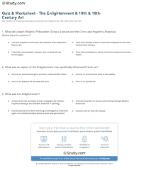 quiz worksheet the enlightenment th th century art print enlightenment s influence on 18th 19th century art architecture worksheet