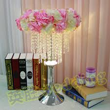 tall vase lighting garden. 30pcs 60cm Tall Flower Stand Wedding Table Centerpieces Vase Candlestick With LED Light Lighting Garden