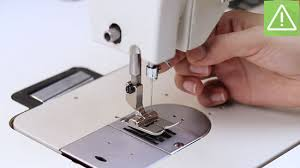 Singer Sewing Machine Needle Hitting Something