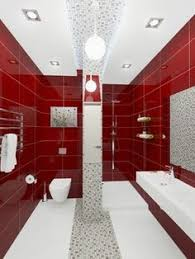 1000+ images about red bathrooms on Pinterest | Black Bathrooms .