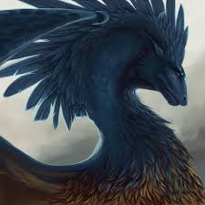 Feather Dragon Wallpaper on WallpaperSafari