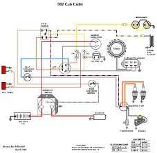 wiring diagram series only cub cadets ccc built 682 782