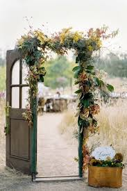 so many doors and great ways to use them not just for weddings but outdoor decor