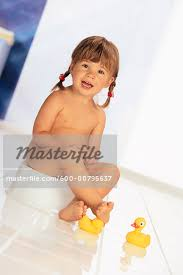 Girl Potty Training Stock Photo Masterfile Premium