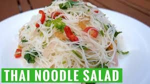 easy summer thai noodle salad recipe yum it