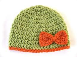Crochet Preemie Hat Pattern Interesting Preemie Hat Pattern Bow Crochet Baby Beanie Pdf Flower Girl Etsy
