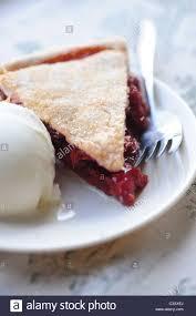 cherry pie slice with ice cream. Wonderful Pie Food Desserts Cherry Pie And Vanilla Ice Cream Slice Throughout Cherry Pie Slice With Ice Cream