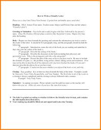 6 Mla Format For Letter Addressing Letter