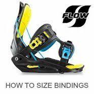 Snowboard Bindings Size Chart Flow Alpine Accessories Flow Snowboard Binding Size Chart
