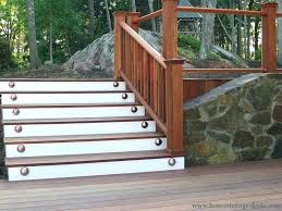 plans outdoor wooden stairs construction how to build exterior wood steps stair railing ideas kits outside