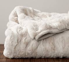 Furry Blankets Throws