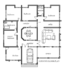 Small Picture Simple 4 Bedroom House Plans 4 Bedroom House Designs 4 Bedroom