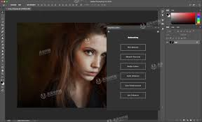 digital makeup eye enhancement skin color change tooth bleaching etc it is very rich in functions you need to use this ps portrait skin whitening