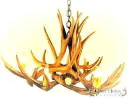 antler chandelier kit chandeliers kitchen