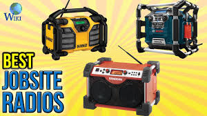 What Is The Best Job Site 9 Best Jobsite Radios 2016
