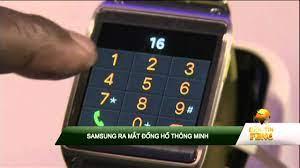 Samsung ra mắt đồng hồ thông minh - YouTube