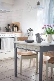 Hausdesign Ikea Küche Tisch Esstisch Norden Weiss 74x74cm Für