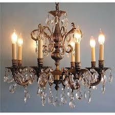 brass crystal chandelier cleaning brass crystal chandelier