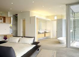 master bedroom with open bathroom. Open Bathroom Concept For Master Bedrooms Intended Bedroom Designs With E