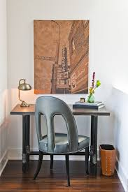 unique home office ideas. Home Decor, Cool Small Office Ideas Room With Unique Gray Chair: