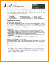 Public Relation Executive Resume Unusual Director Level Resume
