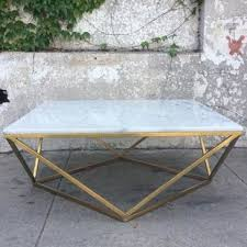 brass and metal furniture. Rosamond Marble Brass Coffee Table And Metal Furniture