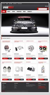 auto parts website template template 47075 spare parts responsive woocommerce theme