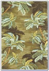 palm tree rugs round