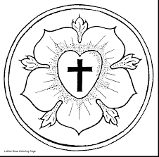 luther rose coloring page coloring pages coloring pages gold luther rose pendant elca luther rose