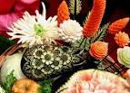 Поделки своими руками цветы из овощей и фруктов своими руками