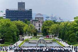 Resultado de imagen de parque memorial de la paz de hiroshima