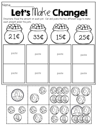 Cut And Paste Money Worksheets Free Worksheets Library   Download ...