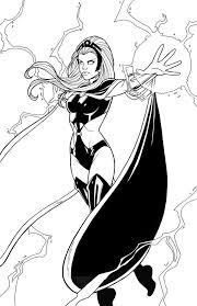 Find coloring pages of : Storm 2011 By Jamiefayx On Deviantart Marvel Coloring Cartoon Coloring Pages Avengers Coloring