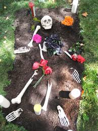 Grave Decoration Inspired Halloween Garden Decor Cemetery And Grave Decorations