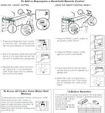 how to reset craftsman garage door opener remote program how to reset craftsman garage door opener