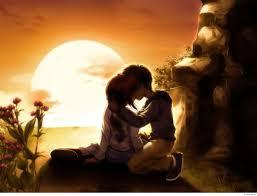 2560x1950 3d love couple kiss wallpaper