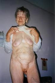 Super old naked women