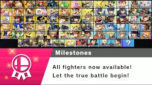 All Characters Where To Find Them In World Of Light Super Smash Bros Ultimate