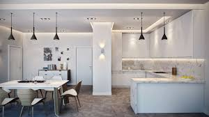 lighting for apartments. view in gallery dark pendant lights a light and airy kitchen lighting for apartments