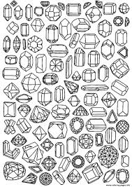 Small Picture Print adult zen anti stress to print diamonds coloring pages