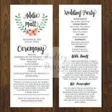 Wedding Program Scroll Wedding Scroll Template Mass Scrolls Free Printable