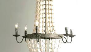 full size of pottery barn dalila beaded crystal chandelier arabella rowan iron wood bead kitchen winning