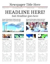 Newspaper Article Word Template Article Template For Word Highendflavors Co