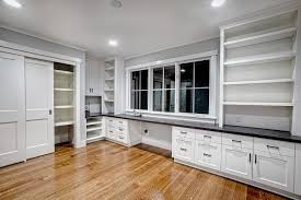 built in home office furniture. Custom Built Home Office Furniture Modular Of Black L Shaped Desk Decoration In A
